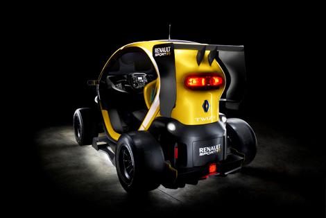 Компания Renault превратила электрокар Twizy в формульный болид