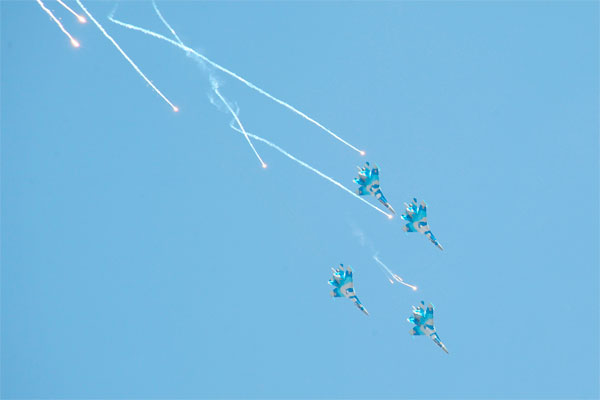 Авиационная составляющая Боевого парада