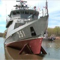 В Уральске спущен на воду ракетно-артиллерийский корабль «Орал»