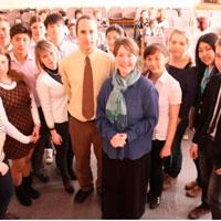 В усть-каменогорской школе-гимназии уроки вели преподаватели из США