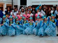 В Астане прошла молодежно-танцевальной акции «Живи в ритме молодежи, занимайся активным образом жизни!» (фото)