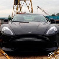 В Алматы прибыл еще один Aston, на этот раз это новейшая модель - Vanquish (фото)