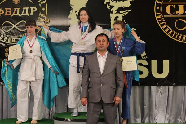 Казахстанцы завоевали 29 медалей на Чемпионате мира по джиу-джитсу