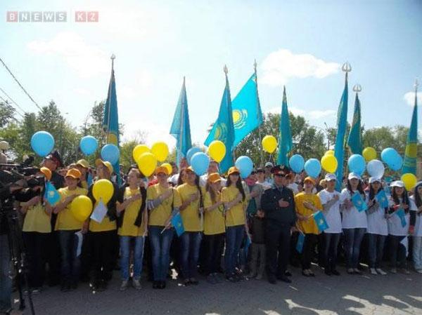 Петропавловск отмечает День государственных символов