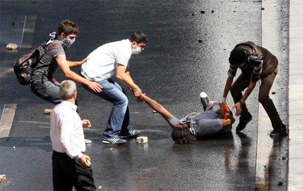 Массовые протесты в Турции