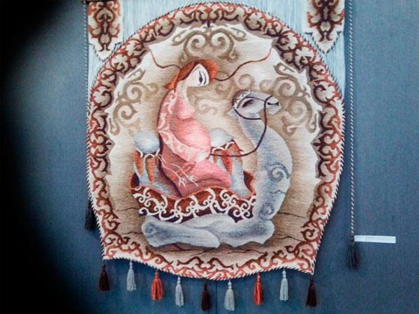 Восхитительная выставка гобеленов проходит в Шымкенте (фото)
