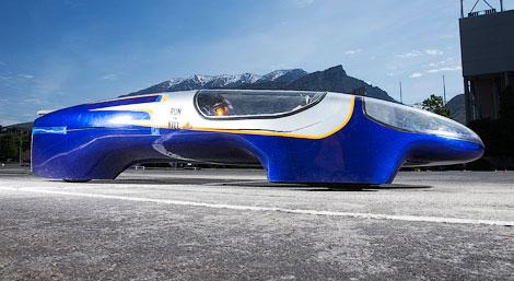 В США построили сверхэкономичный автомобиль с двигателем от газонокосилки