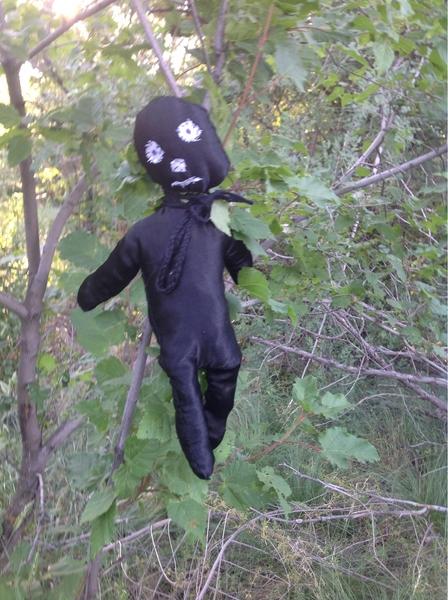 Рядом с местом ДТП под Уральском обнаружены «куклы вуду»