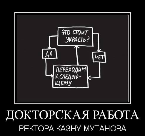 Ректор КАЗНУ Галимкаир Мутанов стал героем демотиваторов о плагиате