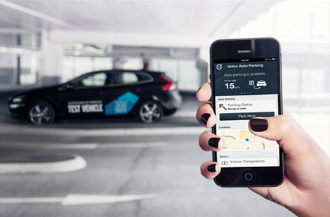 Volvo научит автомобили парковаться без водителя