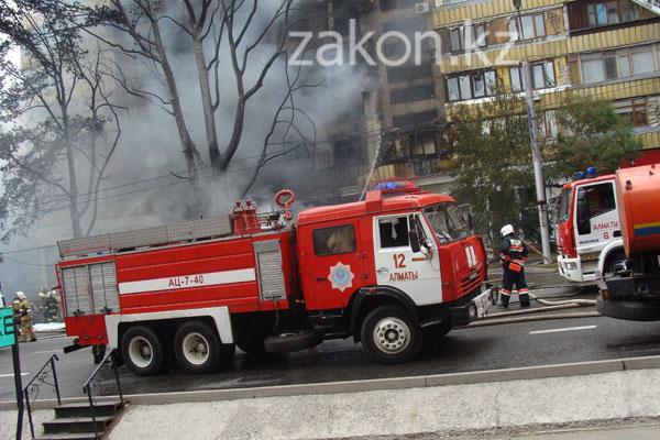 Взрыв бензовоза в Алматы