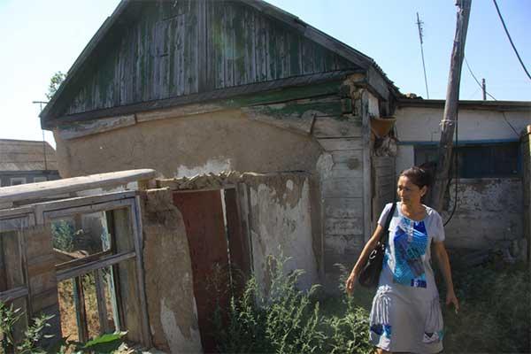 Жительница поселка Белес Зеленовского района ЗКО полгода живет в местном акимате (фото)
