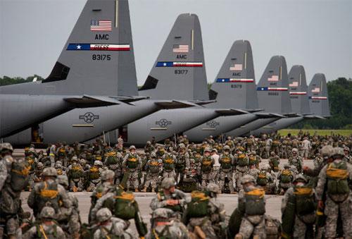 ВВС США установили мировой рекорд группового полета транспортников