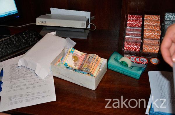 Более 13 млн тг изъято из теневого оборота в результате закрытия нелегальных игорных заведений в Алматы (фото)