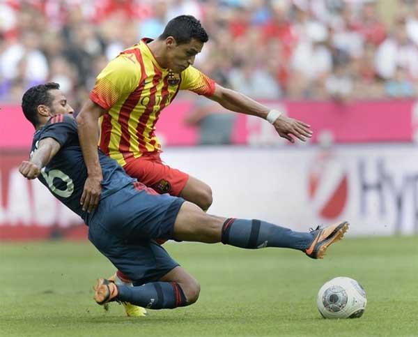 «Бавария» победила «Барселону» (фото)