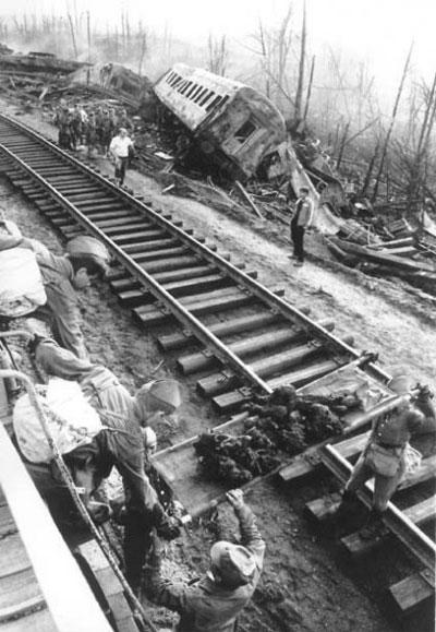 Самые известные железнодорожные катастрофы