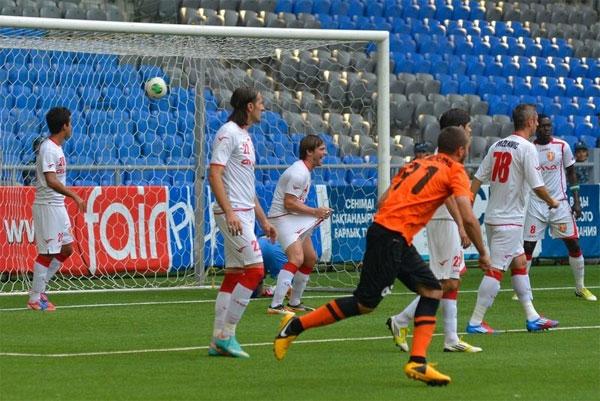«Шахтер» победил албанский «Скендербеу» в матче Лиги Чемпионов