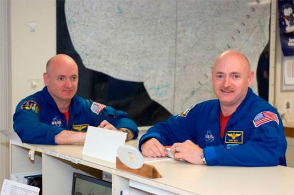 Космонавты-близнецы примут участие в эксперименте NASA