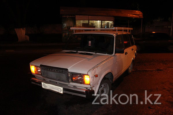 ДТП с участием 4 машин произошло в Алматы (фото)