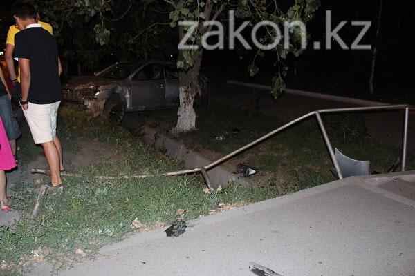 Настоящая сцена из боевика с дракой, погоней и «перевертышем» разыгралась ночью в Алматы (фото)