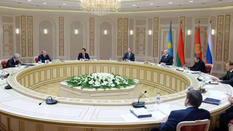 В ходе заседания Высшего Евразийского экономического совета был подписан ряд документов