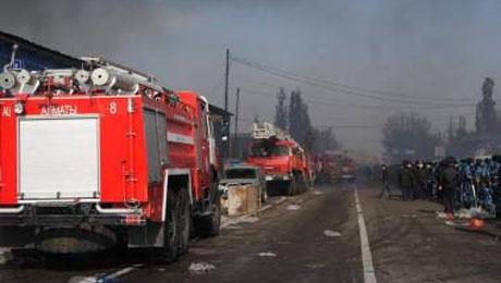 Говорить о причинах пожара на «барахолке» еще рано - Ю.Ильин