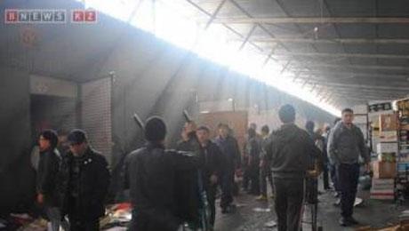 Погорельцы с барахолки не перестанут заниматься торговлей после пожара - О.Жебегенова