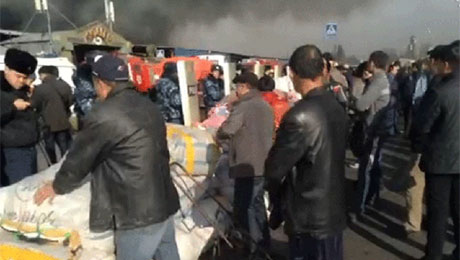 На малоизвестных рынках Алматы ожидают наплыва торговцев