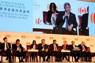 Казахстанская делегация приняла участие в работе «Глобального экономического форума по туризму Макао - 2014»