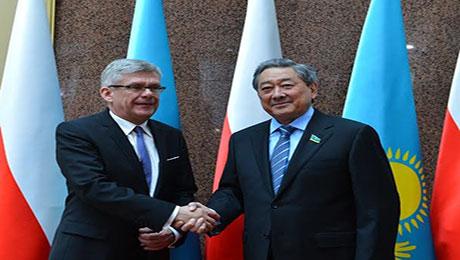Казахстан-Польша: объем внешнеторгового оборота за 2015 год составил более одного млрд долларов США