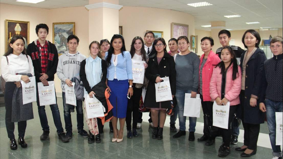 Воспитанники детских домов столицы будут бесплатно обучаться в КАЗГЮУ