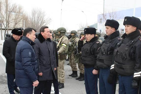 Глава МВД разъяснил Послание Президента РК в Кызылординской области