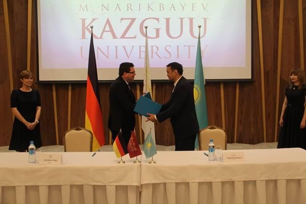 В КАЗГЮУ состоялось открытие Школы немецкого права