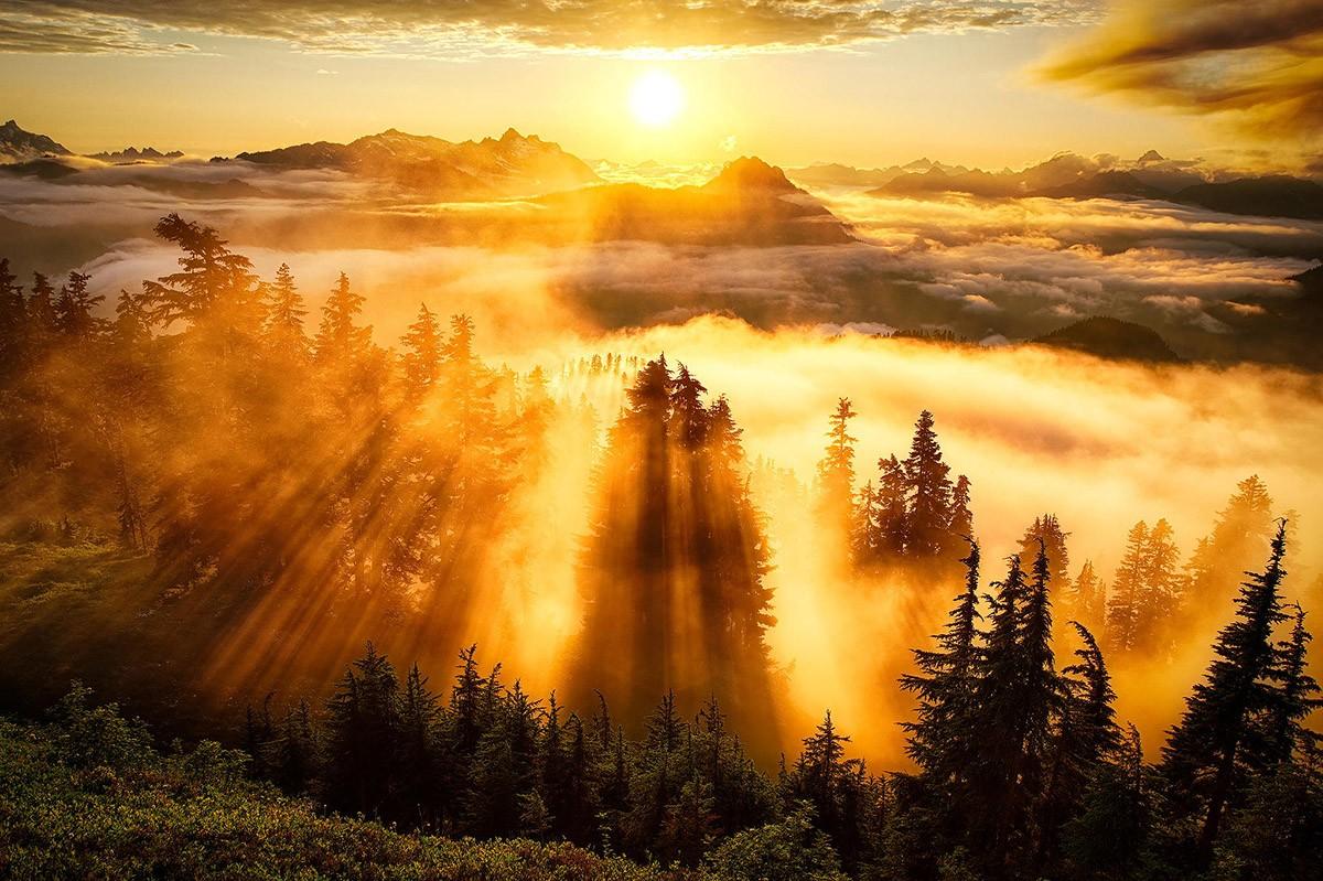 Закаты и рассветы фото природы