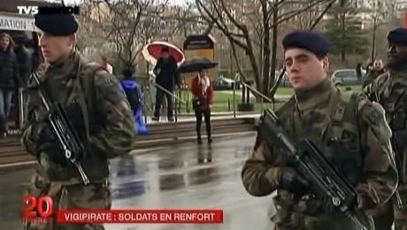 Военные на улицах франции нервируют