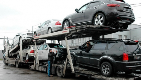С начала года казахстанцы вывезли из России 30 тысяч авто