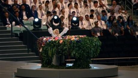 Леди Гага кардинально изменила образ: видео выступления певицы в Баку