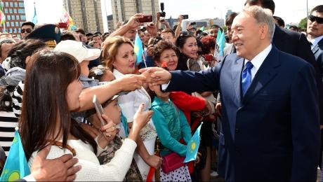 Нурсултан Назарбаев: Астаной гордится весь Казахстан