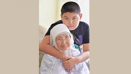 Свой 100-летний юбилей отметила актюбинка Жакибай Бисенгалиева