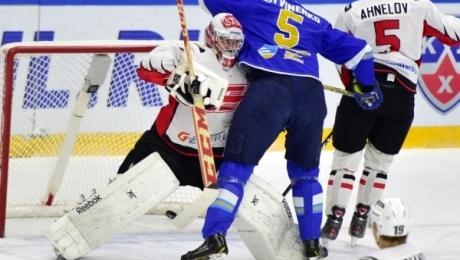 Хоккеисты «Авангарда» вгостях победили «Барыс» вматче КХЛ
