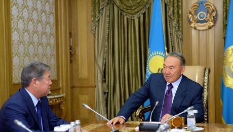 Есимов доложил главе государства о подготовке к ЭКСПО-2017