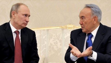 Сегодня в Астане состоится встреча Н.Назарбаева и В.Путина