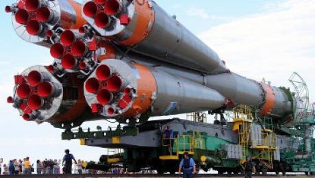 Космонавты МКС удачно приземлились вказахстанской степи