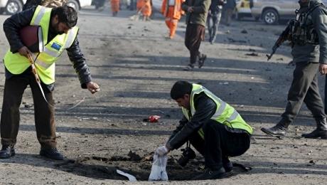 Число пострадавших при взрыве вКабуле выросло до 15