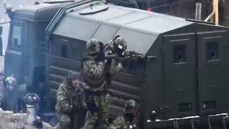 ВХасавюртовском районе Дагестана блокировали боевиков