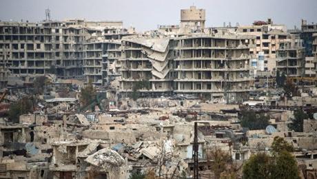 На юге Дамаска произошла серия взрывов