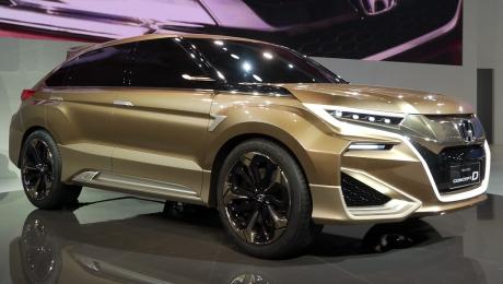 Шпионы рассекретили внешность Honda UR-V. Будут турбомоторы и «атмосферники»