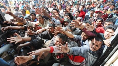 Мигрантов, доставленных изГреции вТурцию, вышлют всвои страны— ЕС