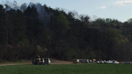 Вертолет стуристами разбился вштате Теннесси