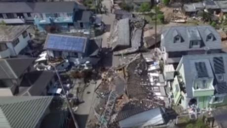 Из-за землетрясения вЯпонии эвакуировано около 69 тыс. человек